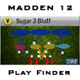 For those wanting to find what playbooks have what formations, sets, and plays, use the Madden 12 Play Finder to find them quickly and easily.