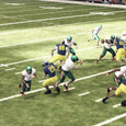 The last couple of days online has revealed that press coverage on the backend with blitzes up front are going to be a popular defensive strategy in NCAA 12. In […]