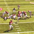 We have already talked about how we like to read the safeties when running the ball to the outside. In this football video  game tips breakdown, we show how we...