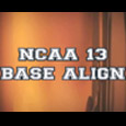 In this NCAA 13 Tips breakdown, we use the base align feature to defend the HB Toss by having the LCB line up out wide of the toss play side....