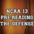 In this NCAA 13 Tips breakdown, we take a look at how to pre-read the pass coverages before the snap. Please keep in mind, this is done with the NCAA...