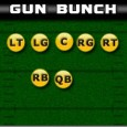 What is the Gun Bunch formation? The Gun Bunch is a 3×1 formation that has a group of three receivers that are clustered tight on the same side of the...