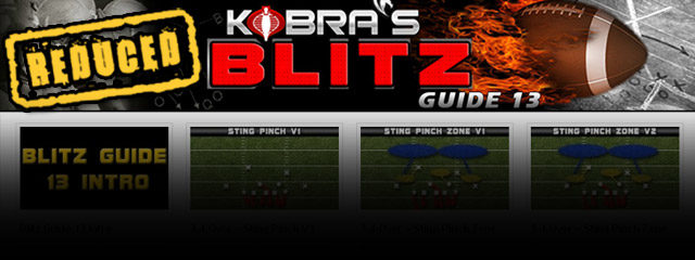 How Would You Like 50+ Blitz Set Ups that Bring Crazy Heat From All Sorts  Of Directions And Put Your Opponents Offense On Complete Lockdown? Kobra has spent the last...