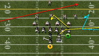 A popular passing concept that can be found in every playbook throughout Madden 13 is the Spacing concept. For those of you who run the Pistol Strong, you are in...