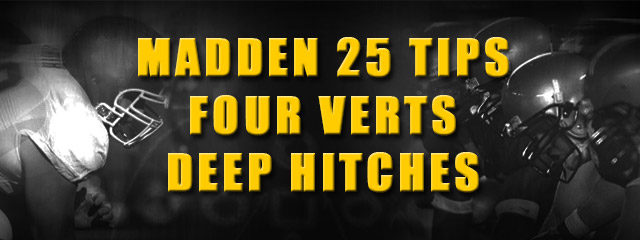 For this Madden 25 Tips breakdown, we take a look at popular passing concept that you won't find in Madden called Four Verts Deep Hitches, unless you make a few […]