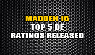 Madden 15 Top 5 Overall DE Ratings