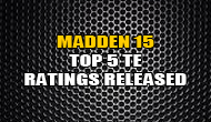 Madden 15 Top 5 Overall TE Ratings